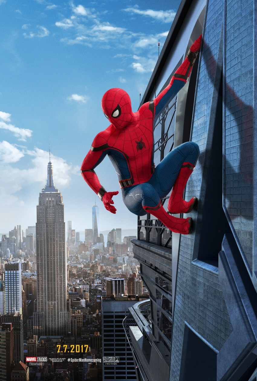SPIDER-MAN Homecoming Movie Poster 2017