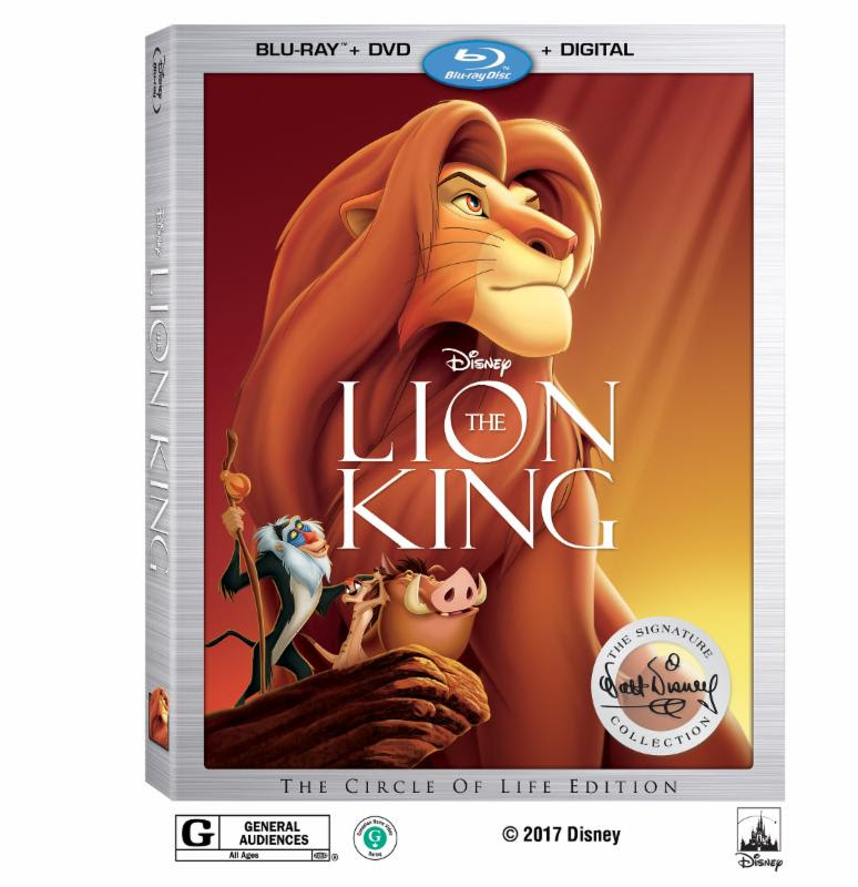 The Lion King Blu-Ray 2017 - QueMeansWhat.com