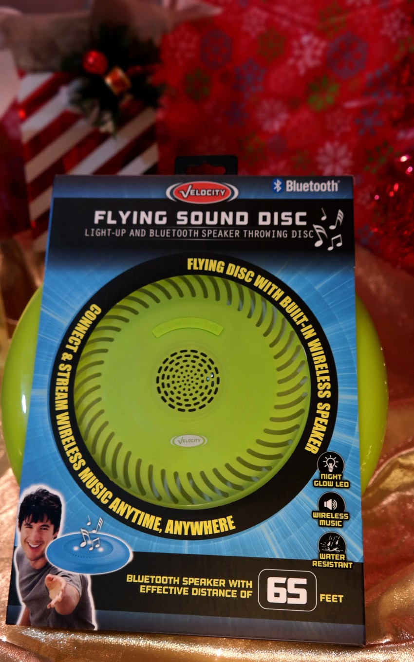 Flying Disc with Bluetooth Speakers at Academy Sports + Outdoors on QueMeansWhat.com Gift Guide