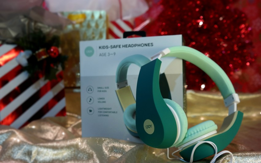 Kids Safe Headphones at Academy Sports + Outdoors on QueMeansWhat.com Gift Guide
