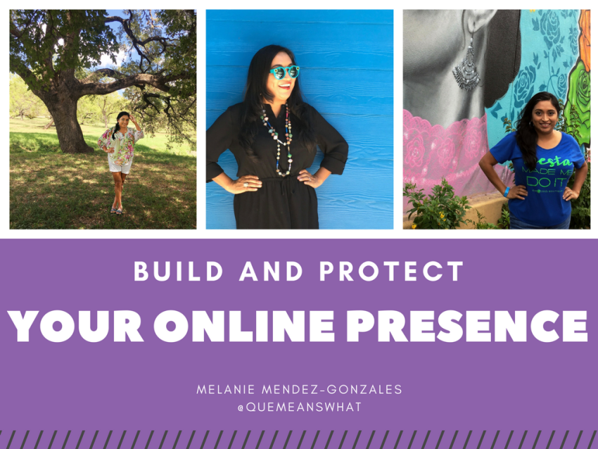 Build and Protect Your Online Presence