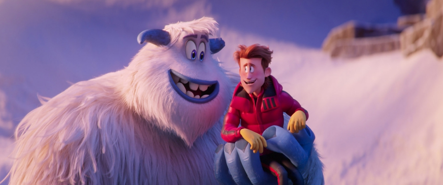 "(L-R) Migo voiced by CHANNING TATUM and Percy voiced by JAMES CORDEN in the new animated adventure ""SMALLFOOT,"" from Warner Bros. Pictures and Warner Animation Group. Courtesy of Warner Bros. Pictures"