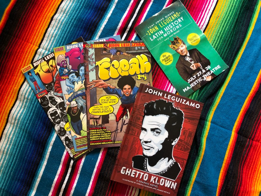 John Leguizamo Freek Comix and Ghetto Klown Book
