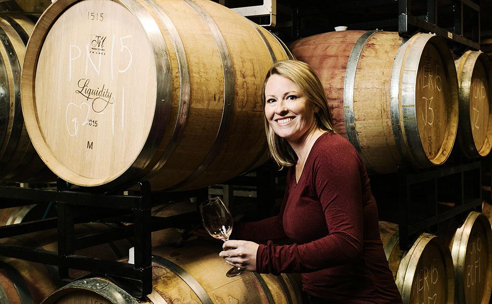 Liquidity Wines' winemaker, Alison Moyes