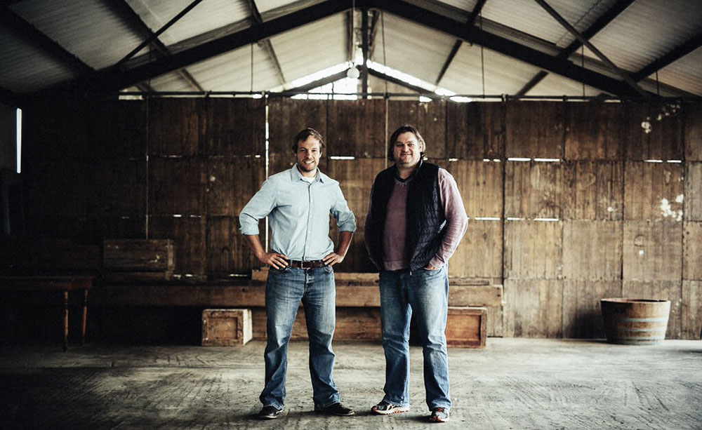 South Africa's white wine producer Raats Family Wines Gavin and Bruwer