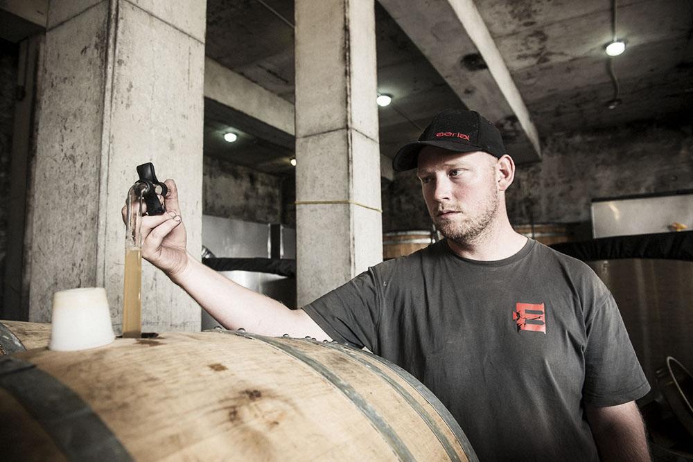 Escarpment Te Rehua winemaker, Huw Kinch