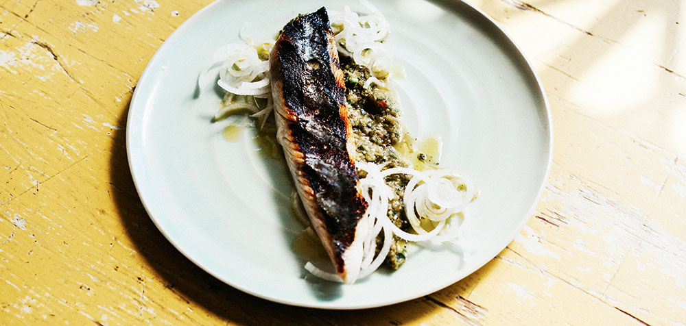 Mitchell Bates Grilled Mackerel