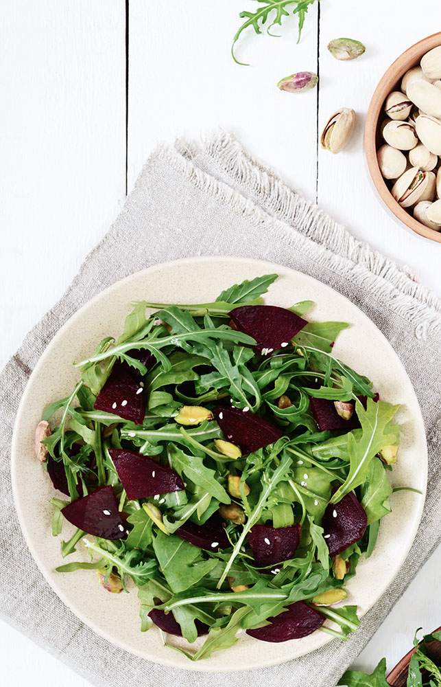 Spring beets salad