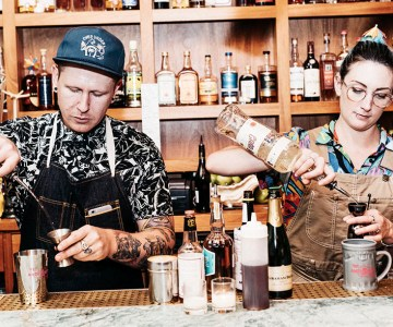Trash cocktails