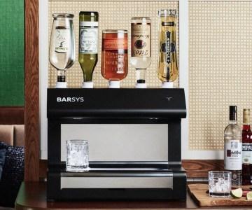 barsys robotic cocktail maker