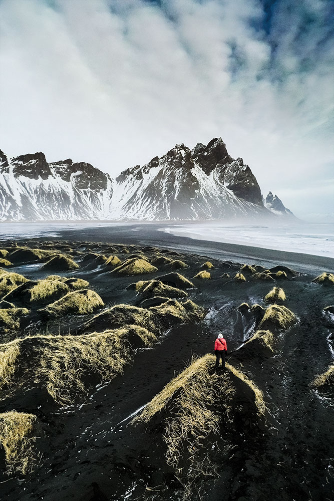 Iceland Stokksnes Bay