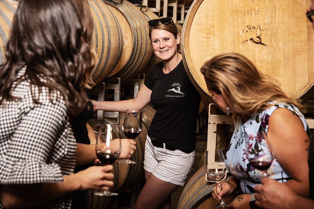Stags Hollow Winery winemaker, Keira Lefrance