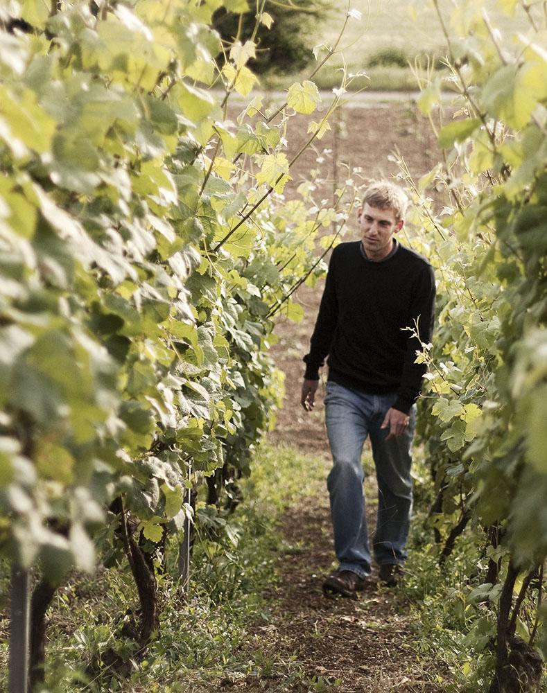 Champagne winemaker Aurelien Laherte