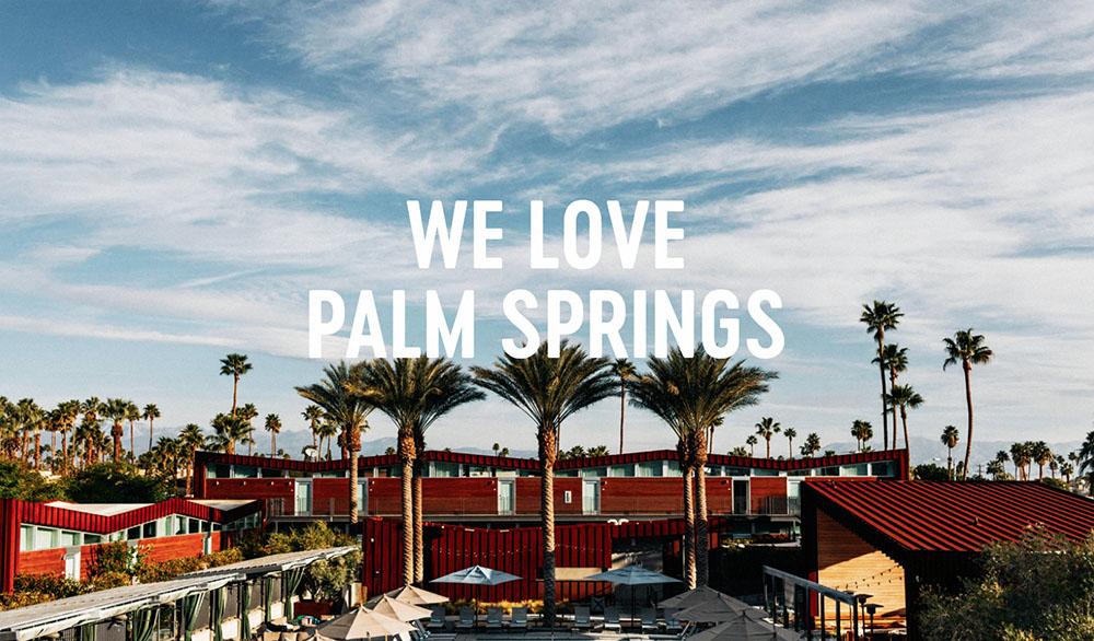 Arrive Palm Springs exterior