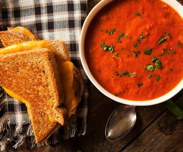 Ultimate comfort food tomato soup