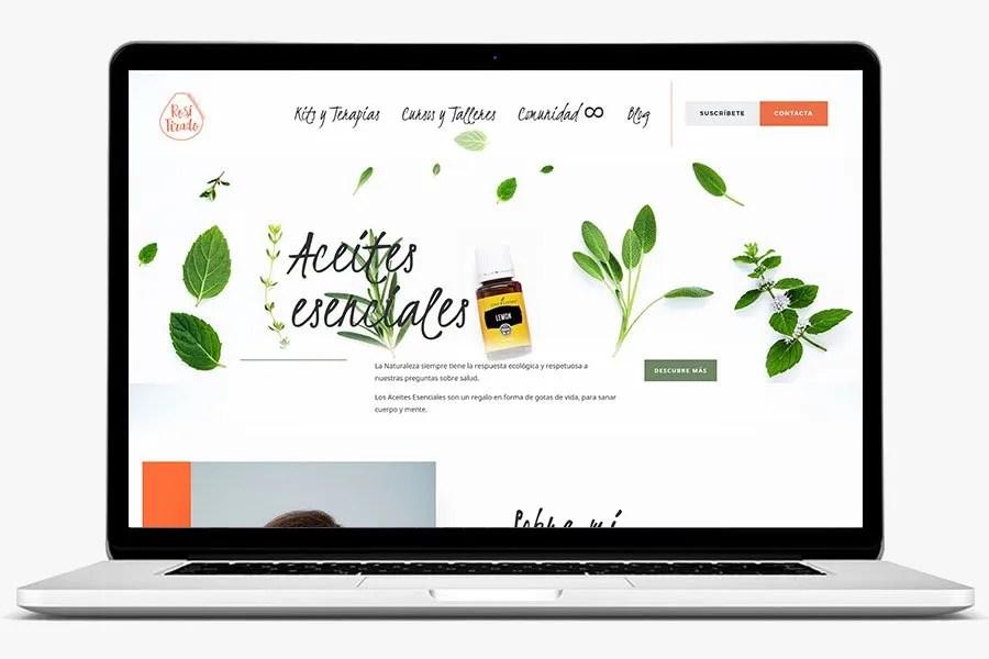 Rosi Tirado pagina web por quenohariayoporti