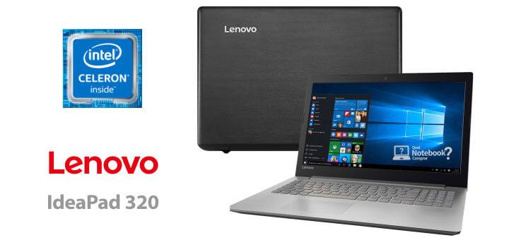 notebook celeron Lenovo Ideapad 320 81A30000BR barato