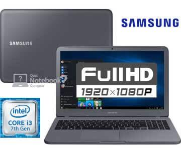 Notebook Samsung Essentials E30 Core i3 setima geração
