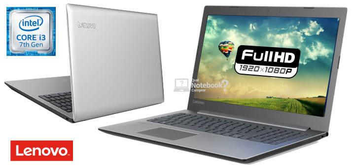 Lenovo Ideapad 330 81FE0005BR Core i3 de 7ª geração 4GB RAM Full HD
