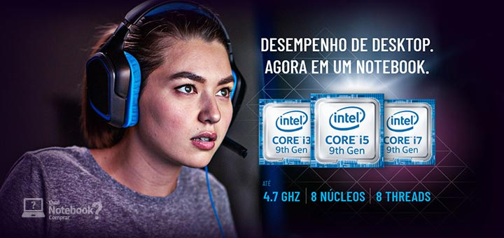 2AM Gaming processadores de desktop nona geração