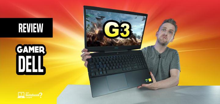Review notebook gamer Dell G3 3590 análise completa novo 2020 com SSD