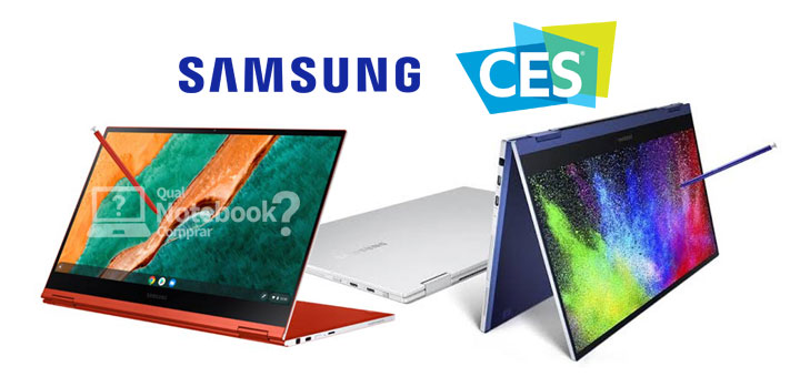 Notebook Samsung na CES 2020