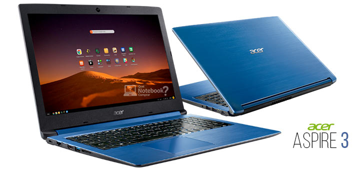 Acer Aspire 3 Notebook com Linux Endless OS A315-53