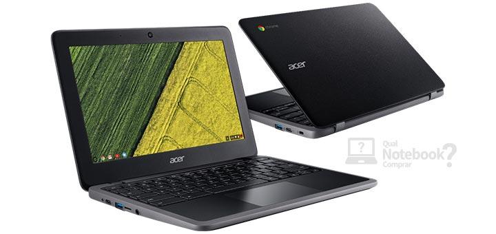 Acer Chromebook C7 design acabamento