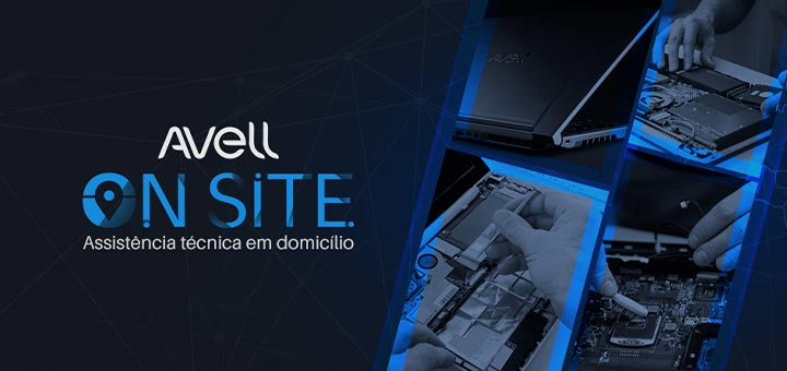 Avell On Site Assistencia tecnica em domicilio para notebooks