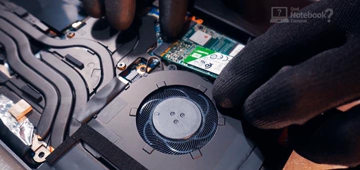 Review Avell LIV A72 upgrade opcao de adicionar ssd
