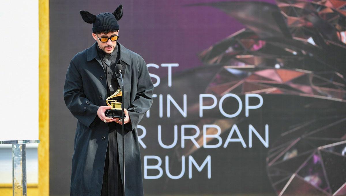 Badd Bunny Grammy 2021