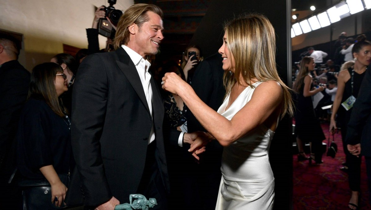 Jennifer Aniston y Brad Pitt