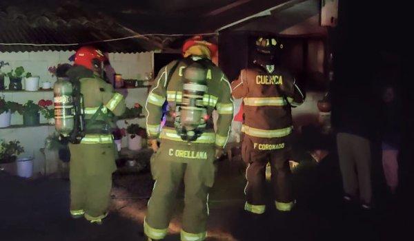 bomberos incendio cuenca