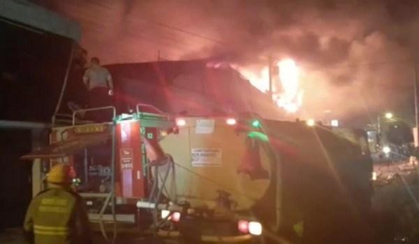 Incendio en Portoviejo