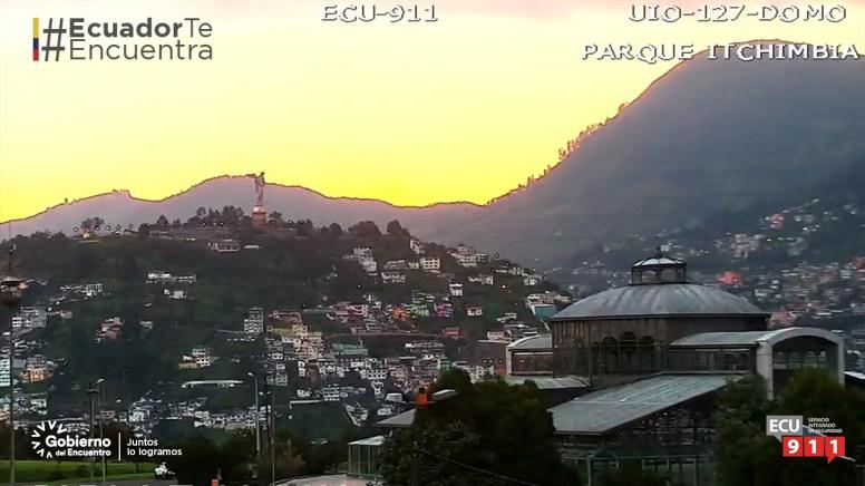 Postales de Ecuador captadas por las cámaras del ECU911. Foto: ECU911
