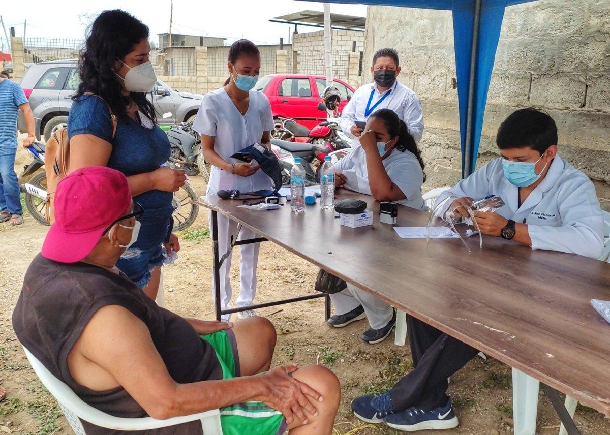 vacunación en playas