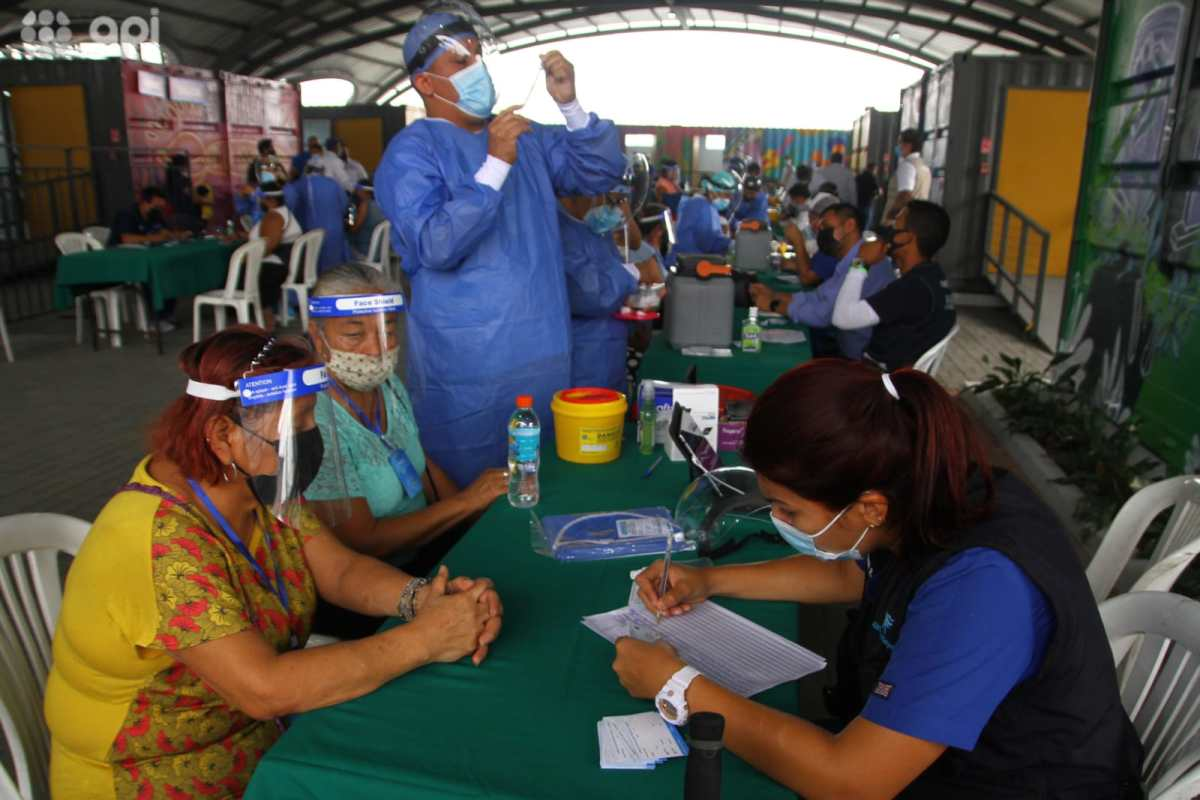 punto de vacunación casuarina