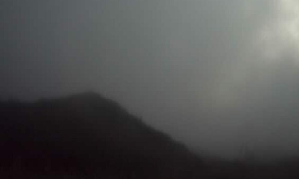 ceniza del volcán Sangay