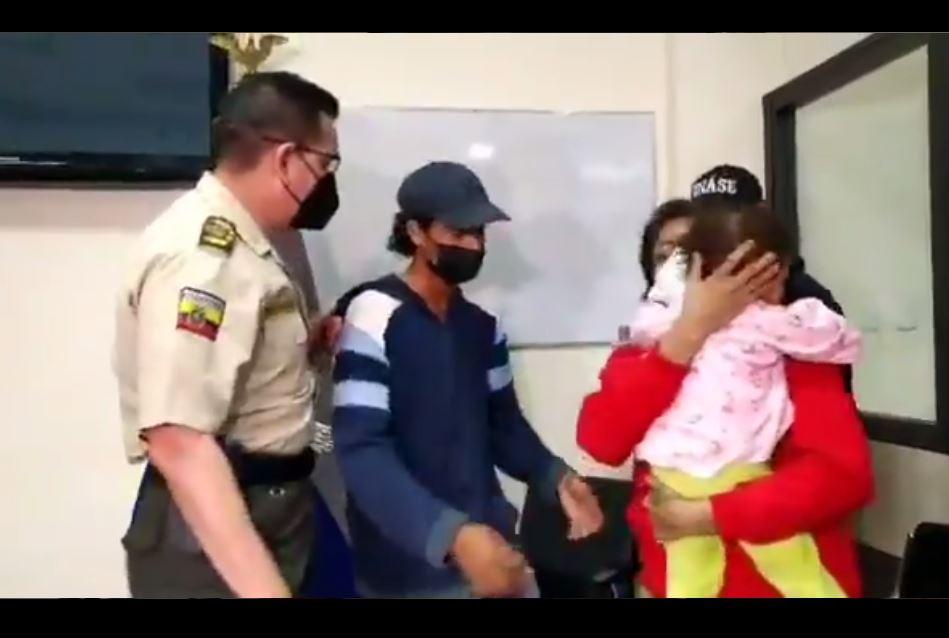 secuestro niña guayaquil