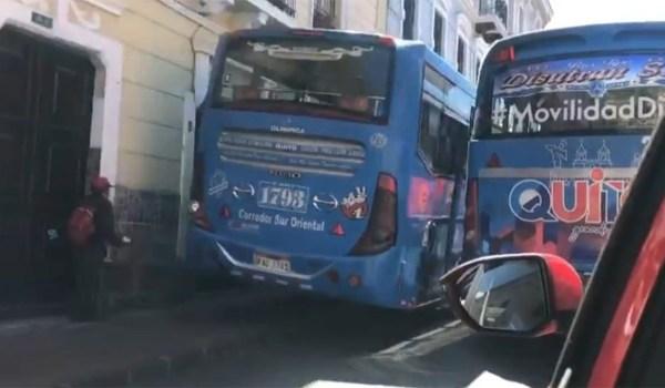 transporte en Quito
