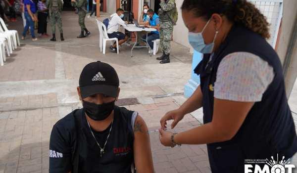 punto de vacunación Durán