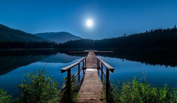 luna azul agosto