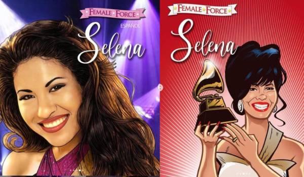 Selena Quintanilla cómic