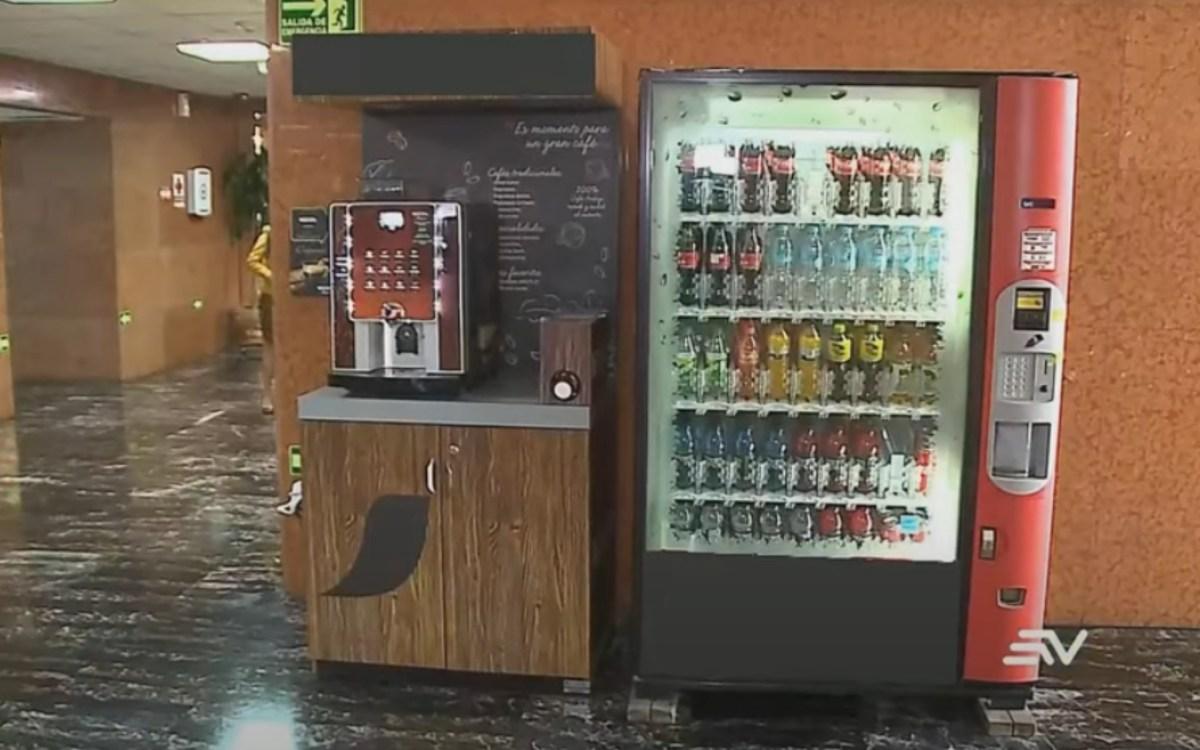 coimas máquina snacks asamblea