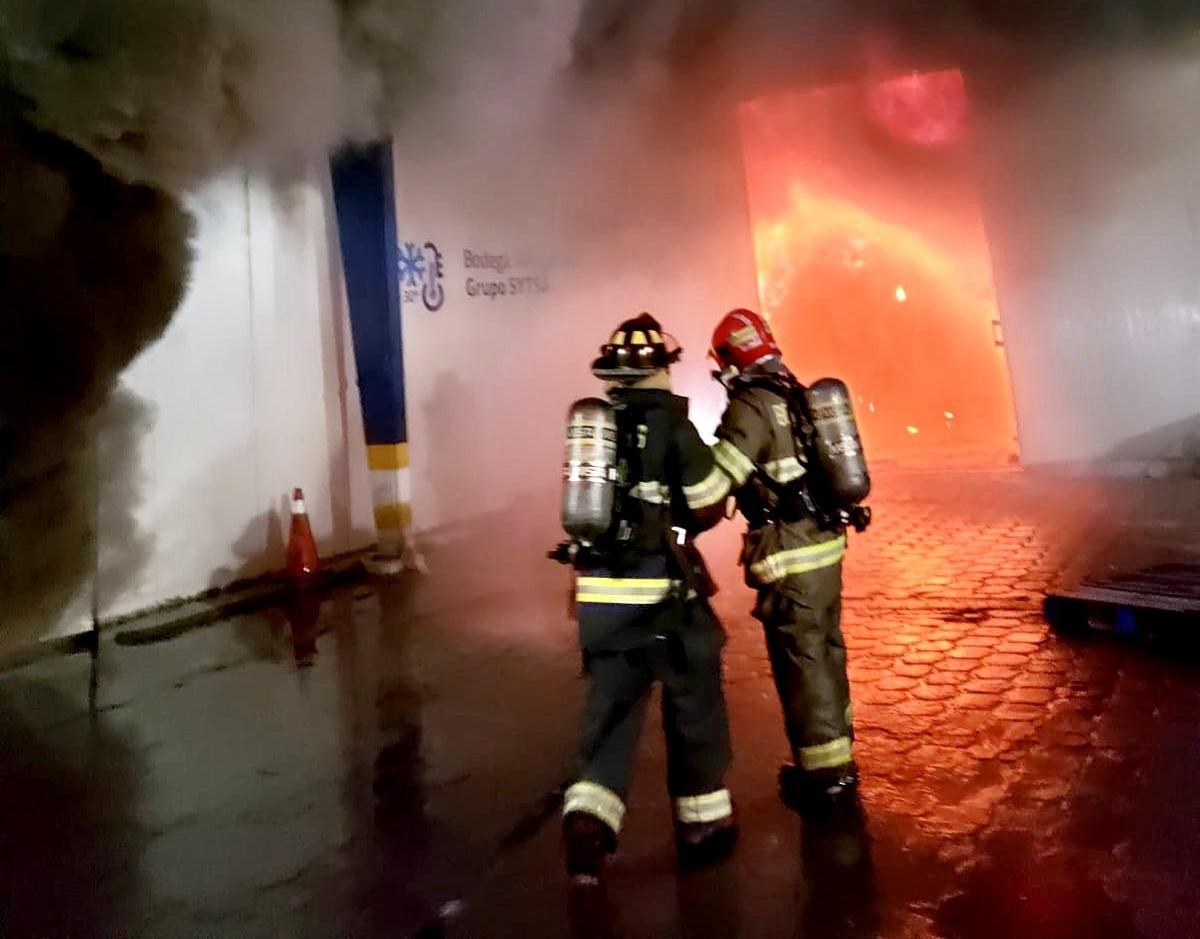 Incendio en Carcelén