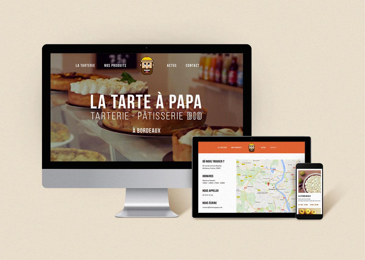 LA TARTE A PAPA – WEB