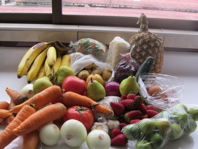 Produce from Cuenca Market
