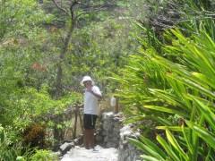 Chet hiking, yep it's him!