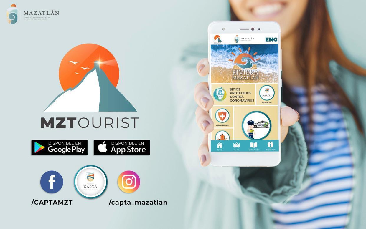 Destaca aplicación MZTOURIST APP entre las 10 más populares del momento -  Que pasa en Mazatlán