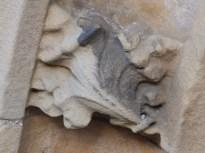 Stone leafWindow frame - Rufford Abbey